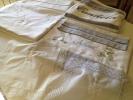 Sabanas, pañuelos bautizo, mantas bordadas personalizado para tu BEBE