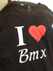 Camiseta I love Bmx
