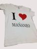 Camisetas personalizadas para fiestas.