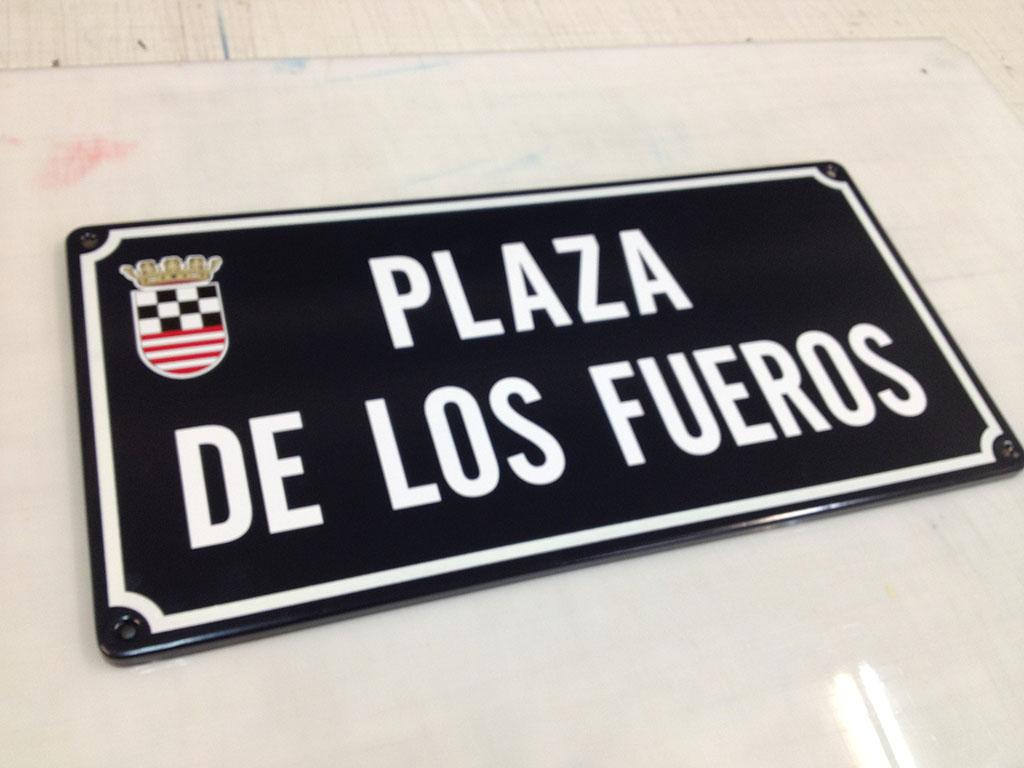 Placas de Calle